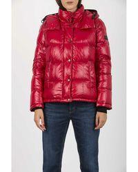 Peuterey Coat Rojo