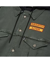 Iuter Abarth Patch Redford Jacket - Gris