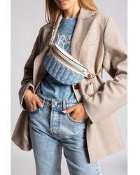 COACH Belt bag with logo - Bleu