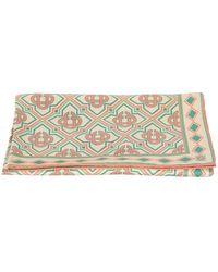 CASABLANCA Printed scarf - Natur