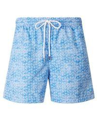 Fedeli - Printed Swimshorts - Lyst