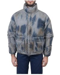 Used Future Giubbotto Washed Puffer - Grijs