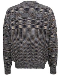 Aries Sweater with No Problemo front Print - Noir