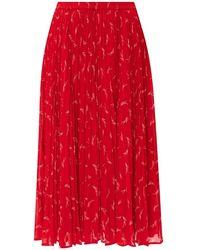 Michael Kors Pleated skirt - Rosso