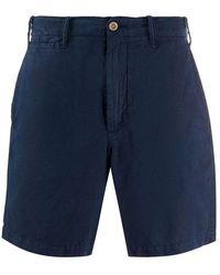 Polo Ralph Lauren Flat Front Shorts - Blau