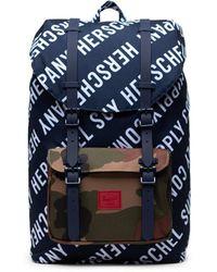 Herschel Supply Co. Zaino Little America - Blauw