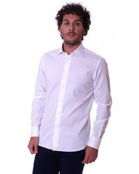 BRANCACCIO - Slim Fit Shirt H Italian Collar - Lyst