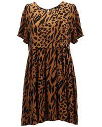 Obey Iggy Ss Dress - Bruin