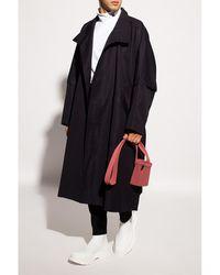 Issey Miyake Oversize coat - Noir