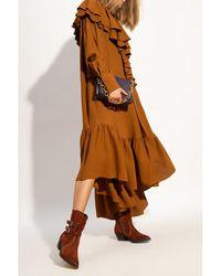 AMI Oversize dress Marrón