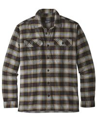 Patagonia Tshirt Met Lange Mouwen - Grijs