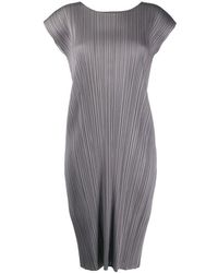 Issey Miyake Pleats Please Dresses - Grijs