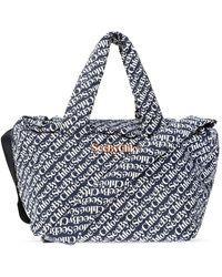 See By Chloé 'tilly sbc' shopper bag - Azul