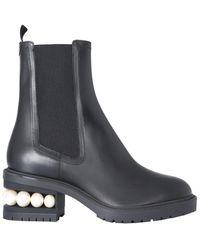 Nicholas Kirkwood Casati Chelsea Boots - Zwart