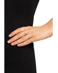 Isabel Marant Set of 5 rings Beige - Neutro