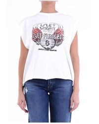 8pm D01h88 Sleeveless T-shirt - Wit