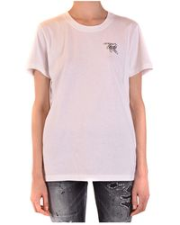 Off-White c/o Virgil Abloh T-shirt Con Stampa - Wit