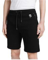 Karl Lagerfeld Tokidoki Rubber Badge Shorts - Zwart