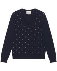 Gucci - Jacquard Sweater - Lyst