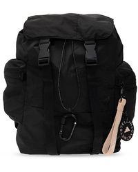 adidas By Stella McCartney Backpack With Logo - Zwart