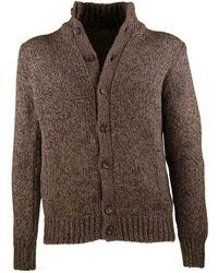 Zanone Kyoto cardigan jacket - Marron