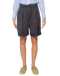 Department 5 Pantalone Shorts - Zwart