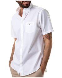 Max Mara Chemise REG Broadcloth - Blanc