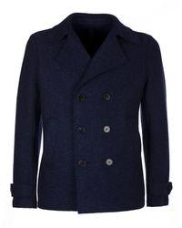 Harris Wharf London Coat - Blau