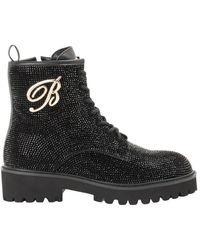 Blumarine Boots - Noir