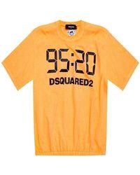 DSquared² T-shirt 25th Anniversary Collection - Arancione