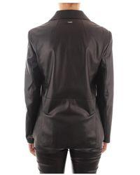 Liu Jo Double-Breasted Slim FIT Jacket - Noir