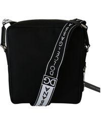 Dolce & Gabbana Crossbody Sling Polyester Purse - Zwart