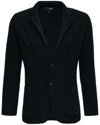 Lardini Single-breasted Jacket - Zwart