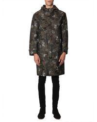 Mackintosh Hooded Coat - Grün