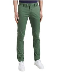 AT.P.CO - Chino Trousers - Lyst