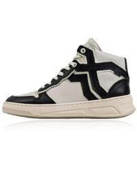 Bronx Old-cosmo High Top Sneakers - Wit