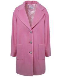 Chiara Ferragni Wool Coat - Roze
