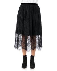 Vivetta Lace skirt - Negro