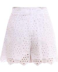Vivetta Shorts D0110082 Blanco