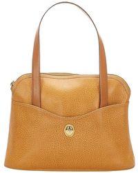 Dior Leather Handbag - Marrone
