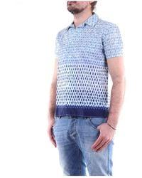 Daniele Alessandrini C1797B13524001 General Polo shirt - Blu