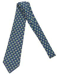 Hermès Tweedehands Boom - Blauw