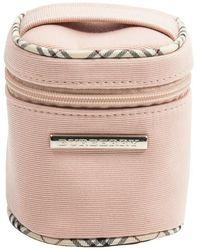 Burberry Tweedehands Mini-accessoirezakje - Roze