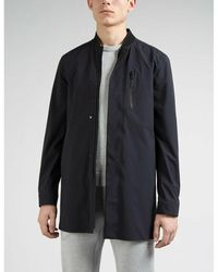 J.Lindeberg Coat Tommy 3L Stretch - Bleu