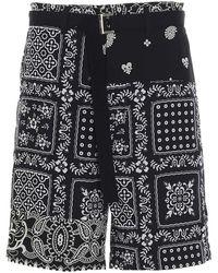 Sacai Shorts - Blauw