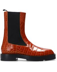 Givenchy Leather Ankle Boots - Bruin