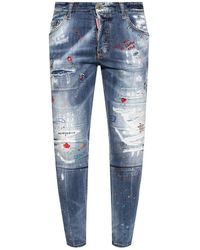 DSquared² - Super Twinky Jeans - Lyst
