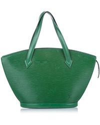 Louis Vuitton Epi saint jacques pm correa corta de cuero - Verde