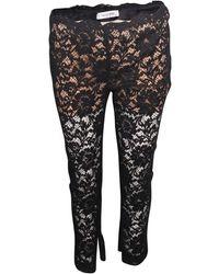 Valentino Lace Black Pants - Zwart
