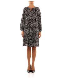 iBlues Clava dress - Negro